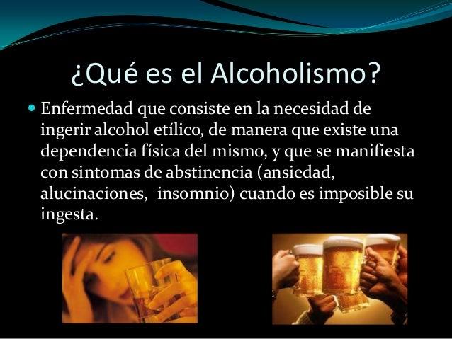Las citas sobre el alcoholismo