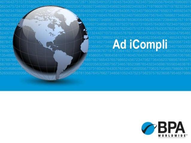 Ad iCompli Sales Presentation - January 2014