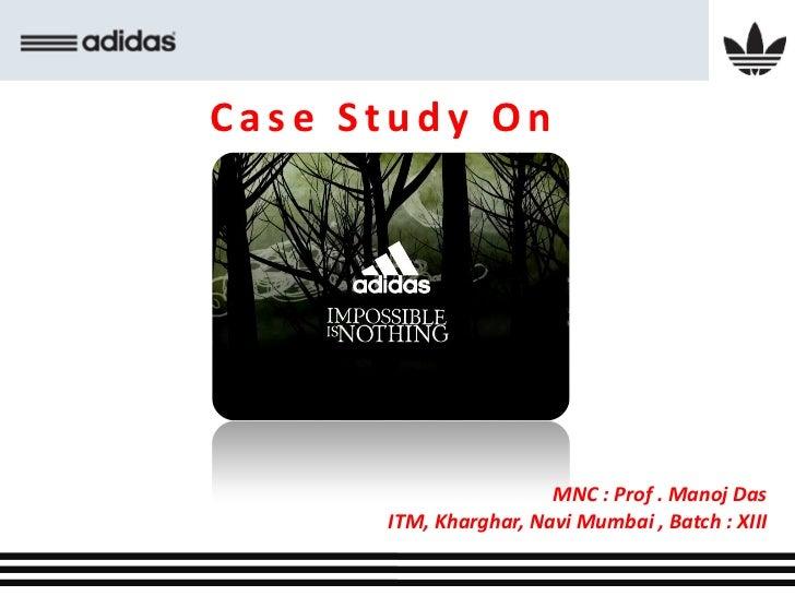 Adidas case study marketing