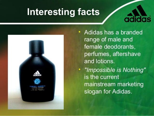 about adidas company