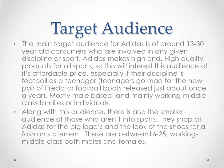 Adidas Internal Analysis Essay