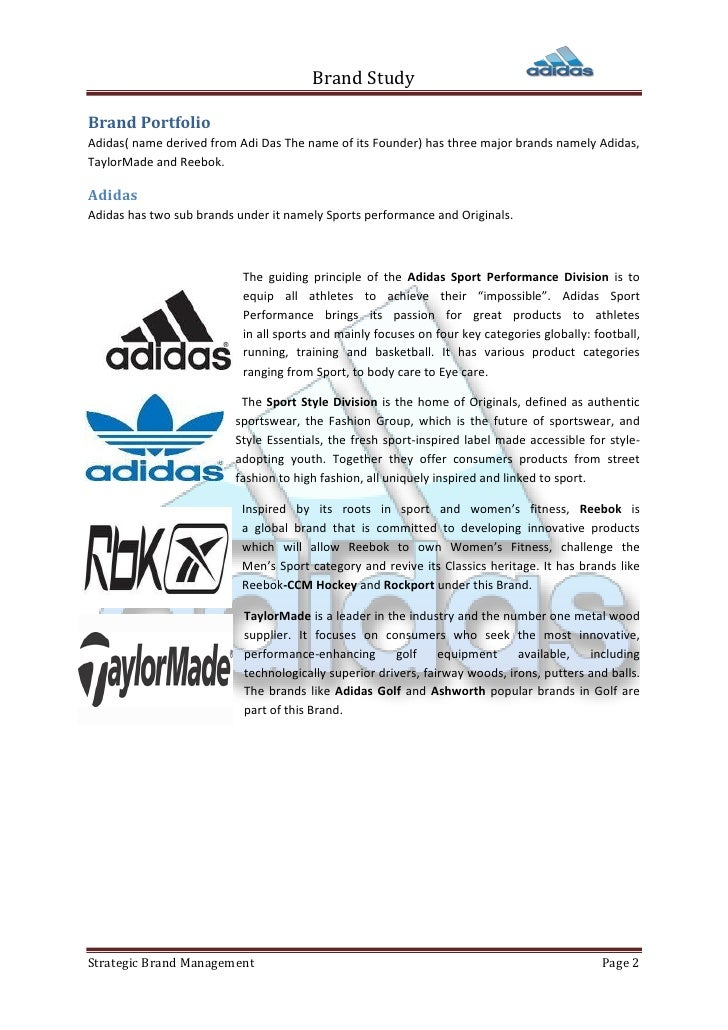 brand positioning of adidas