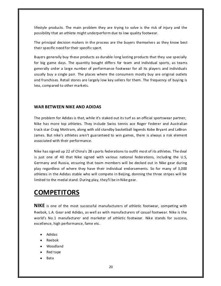 adidas case study essay