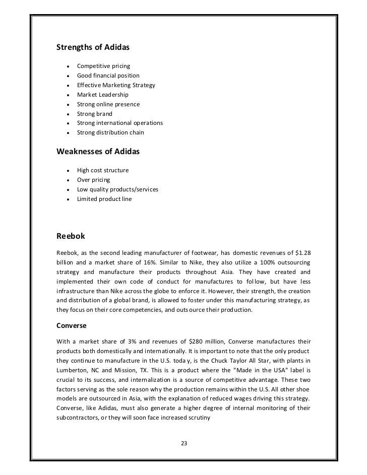 Structure of thesis research proposal