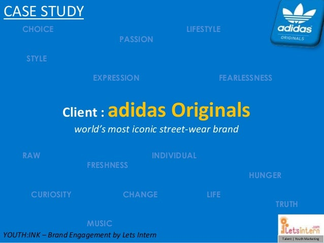 Adidas Originals - YouthINK Internship Program | Case Study