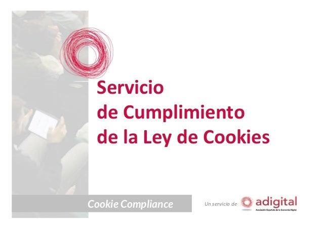 Servicio de cumplimiento de la ley de cookies