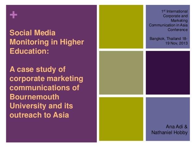 Adi & Hobby_2013_Social Media in Higher Education