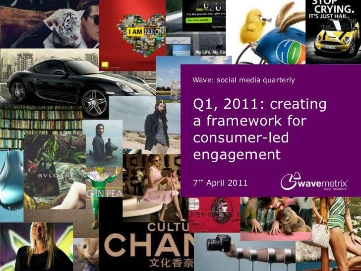 """Q1, 2011: creating  a framework for  consumer-led  engagement (Wavemetrix) -OCT11"