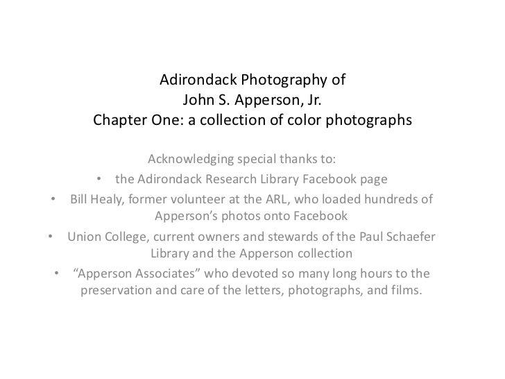 Adirondack photography of