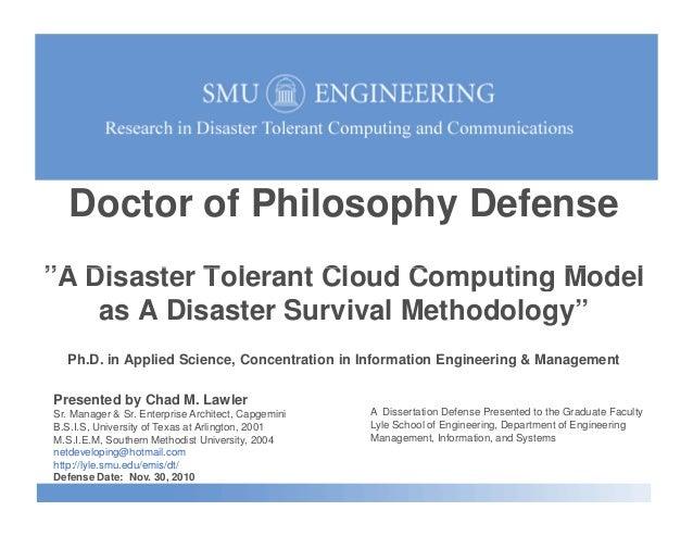 Cloud computing phd thesis