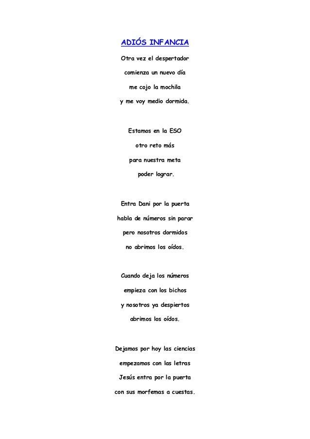 poemas de infancia