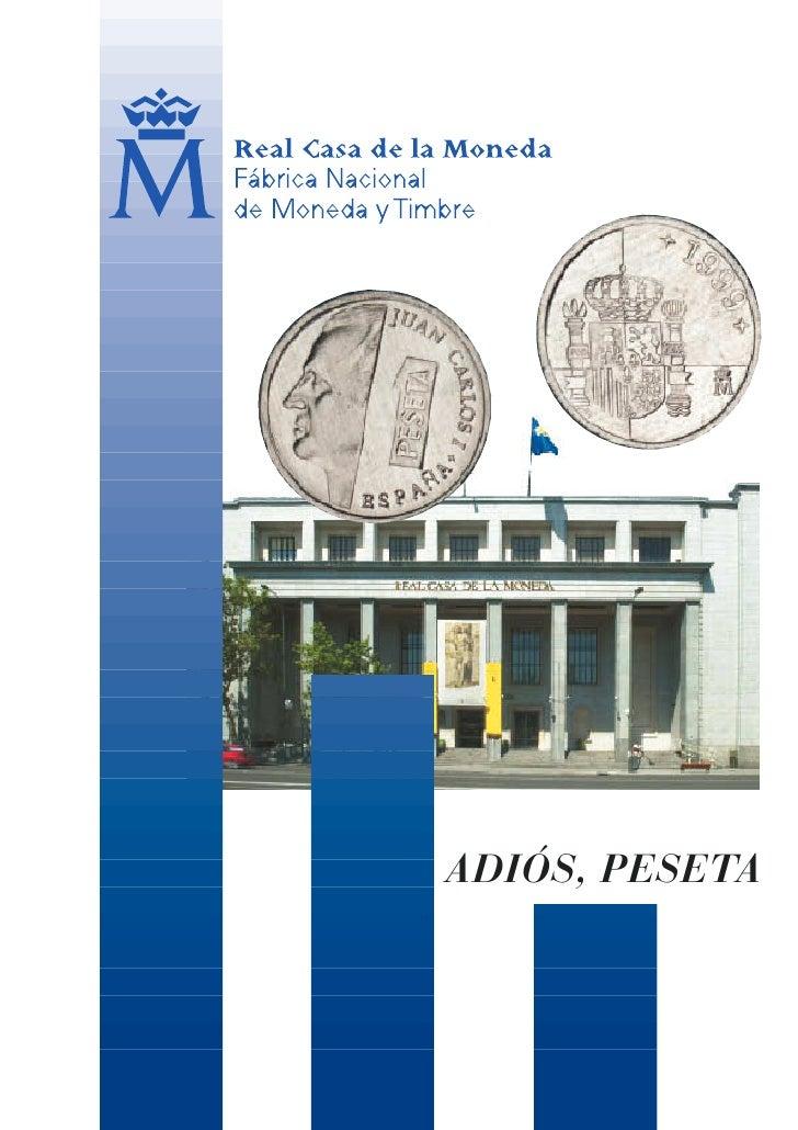 adios, peseta