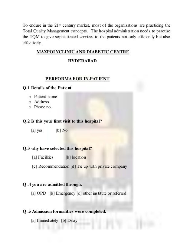 A dissertation report on marketing