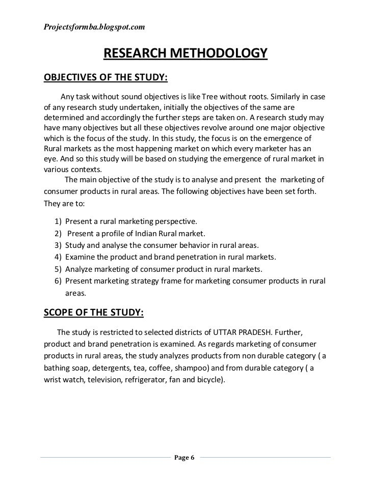 mba dissertation in marketing