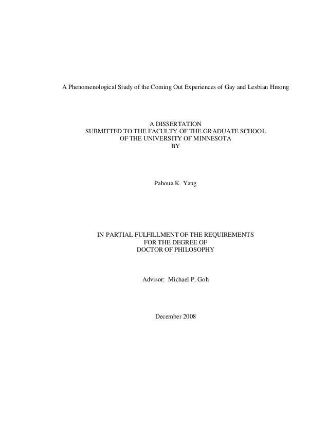 Doctoral dissertation assistance umn