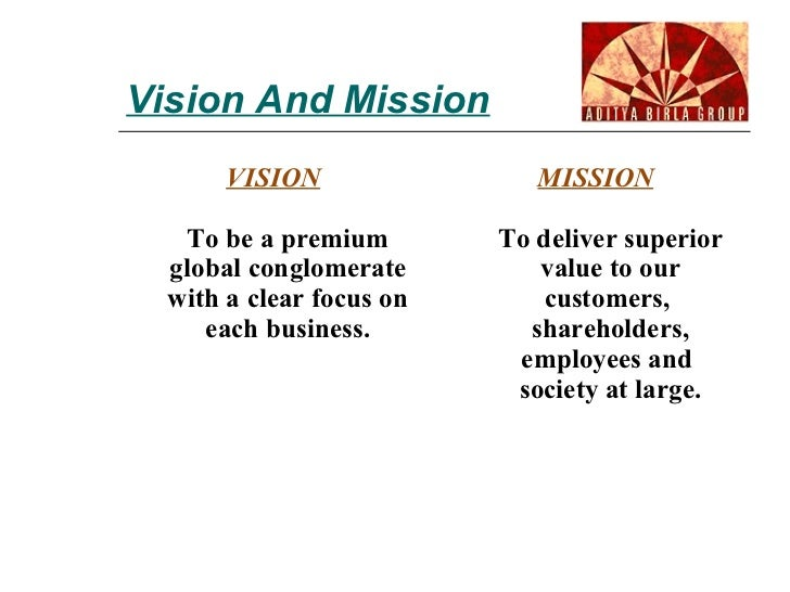 aditya birla group global vision indian values Aditya birla - corporate level chairman: kumar mangalam birla (1995) aditya birla group cultural heritage our vision to be a premium global conglomerate.