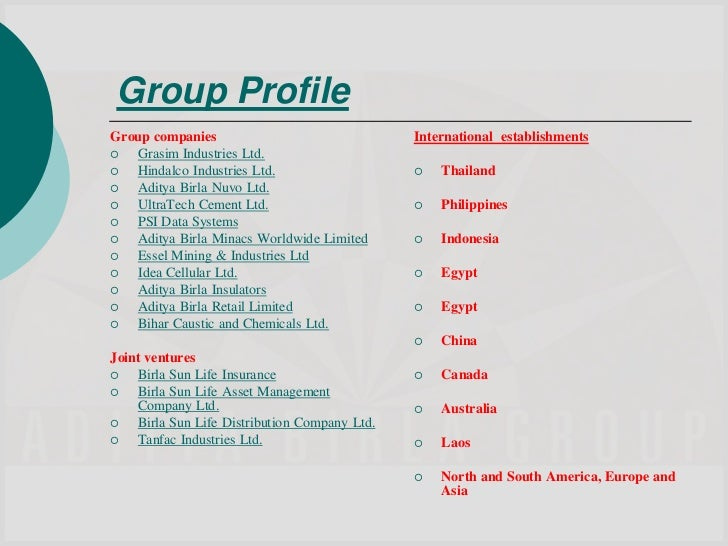 Top Life Insurance Companies >> HR Policies of Aditya Birla Group ppt