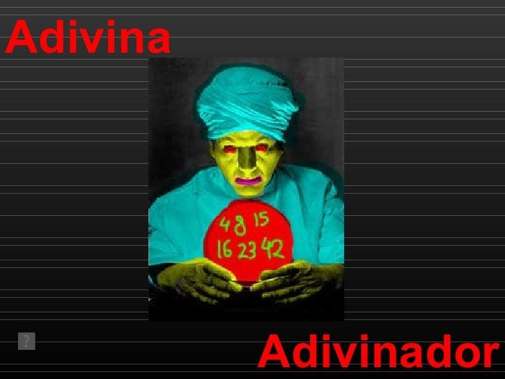 Adivina Adivinador