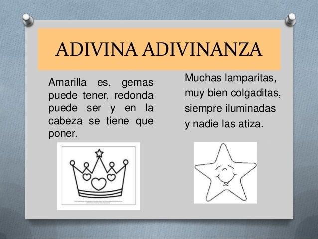 ADIVINA ADIVINANZA Amarilla es, gemas puede tener, redonda puede ser y en la cabeza se tiene que poner.  Muchas lamparitas...