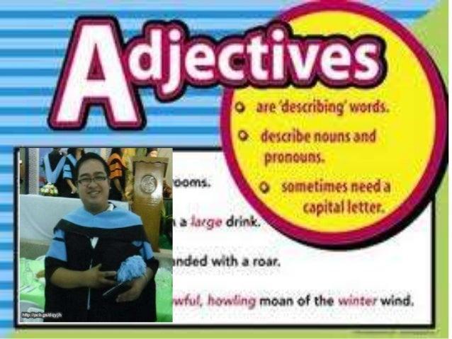 Write an adjective that best describe each noun. Choose the adjective from the box. GRADE II GRADE III 1. ___________ sun ...