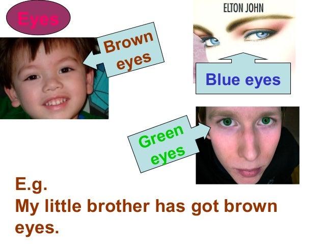 Describing someones eyes?