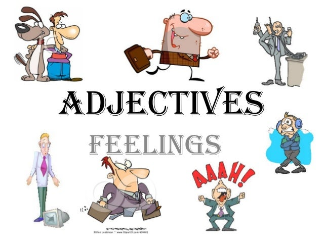 ADJECTIVES FEELINGS