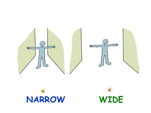 NARROW WIDE