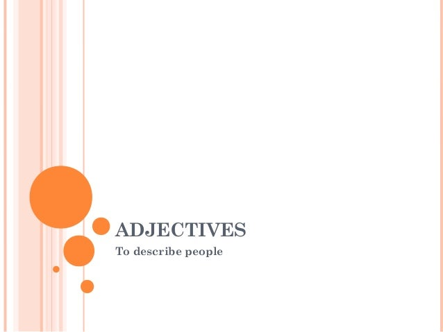 Adjectives to describe_people[1]