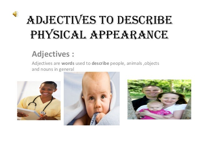 """describe physical appearance You don't have to give all your description of a character when he or she first arrives on the scene instead, scatter brief descriptions throughout multiple scenes no doubt many of your favorite writers do this 6 describe actions that reveal physical characteristics """"as we'd been talking, she'd pulled [her."""