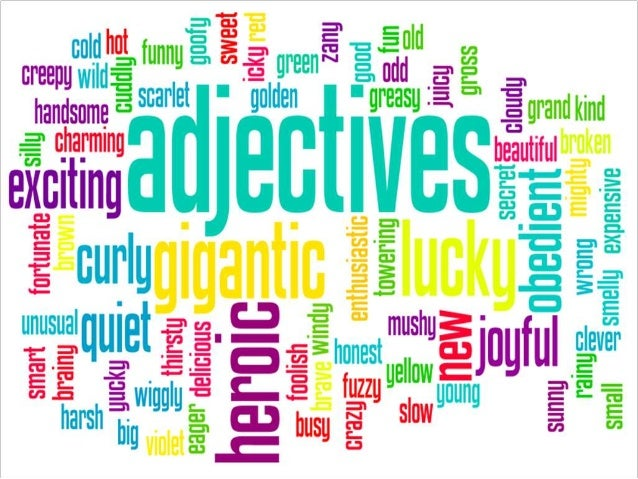 Adjectives That Describe Yourself   lbee