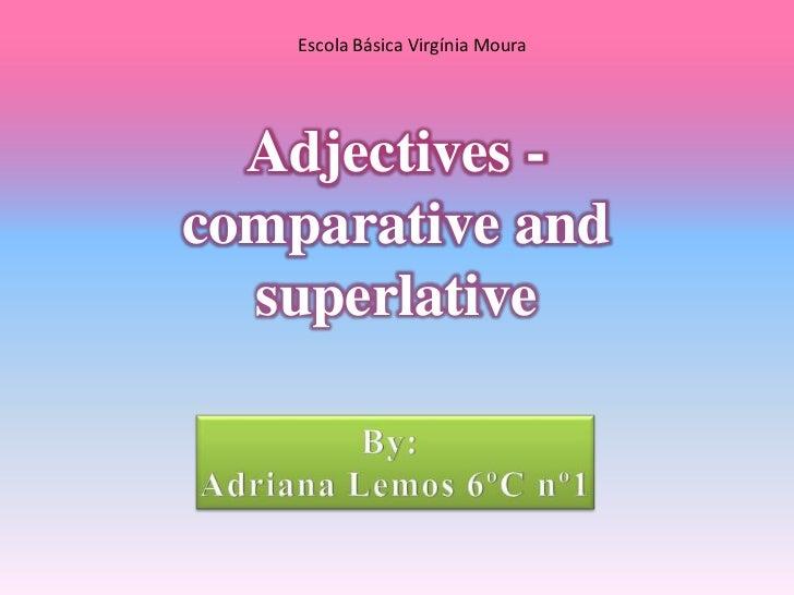 Adjectivos