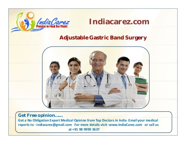 Adjustable gastric band surgery