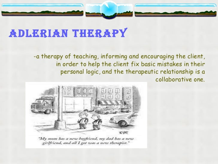 the adlerian theory essay The strengths and weakness of adlerian therapy shane wilson rio salado collage adlerian therapy, which is based on the theory's of alfred adler, points to the.