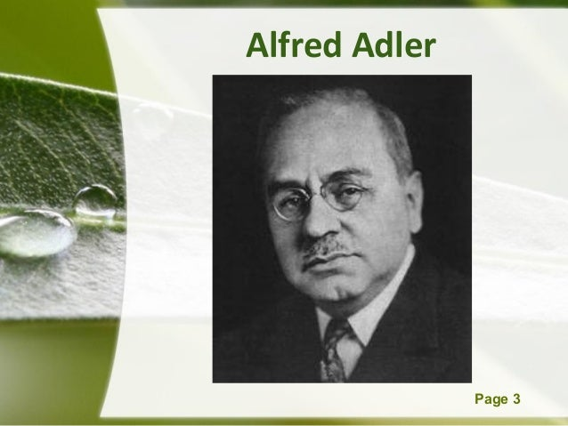 alfred adler key concepts Alfred adler's individual psychology  the lifestyle of the individual is considered the key to his behavior  it could be argued that adler's concepts are.