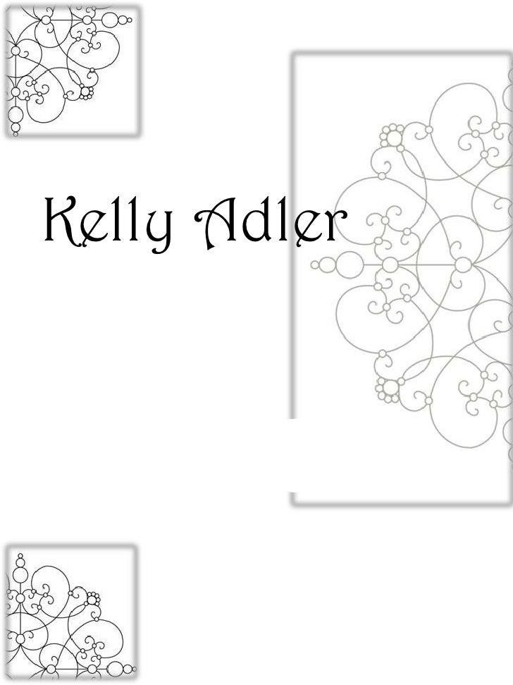 Adler. Portfolio Pages