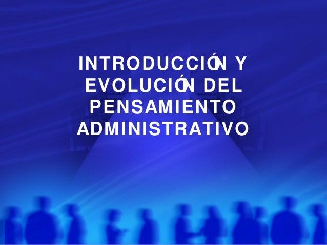 Adm científica y teoria clasica marzo-2012