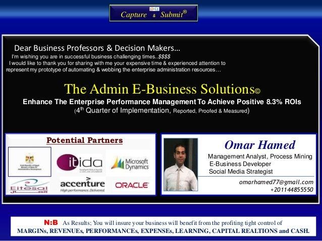 Admin e business solution