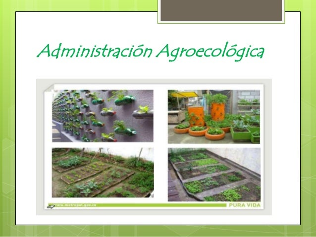 Administración Agroecológica