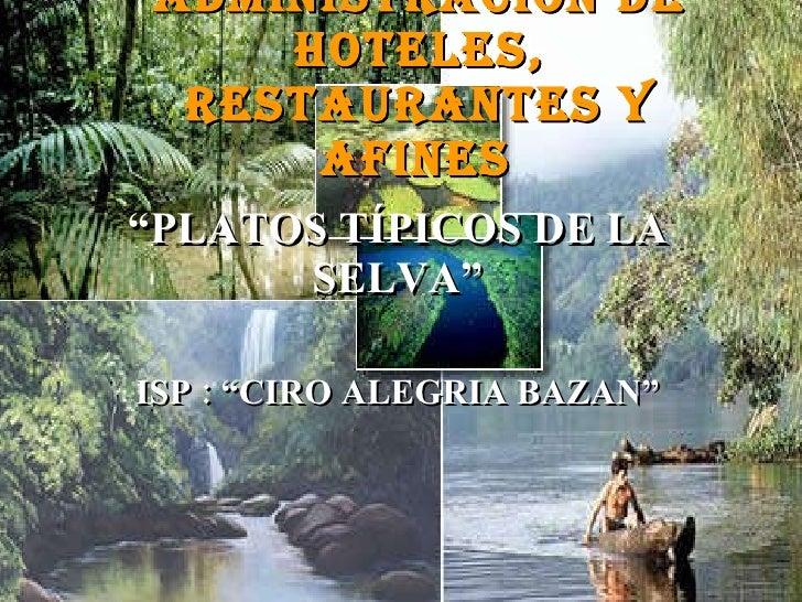 AdministracióN De Hoteles, Restaurantes Y Afines