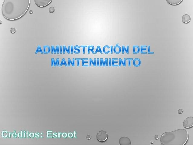 Optimizar equipos Eliminar retrasos en el control Objetiv o Simplificar la supervisión Reducir trabajos Establecer metas d...