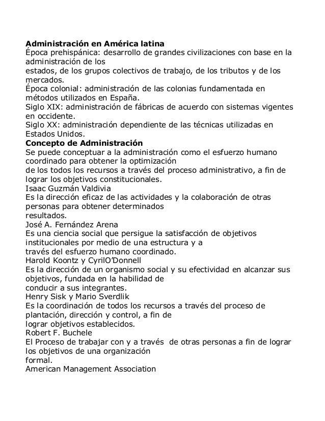 Administración en América latinaÉpoca prehispánica: desarrollo de grandes civilizaciones con base en laadministración de l...