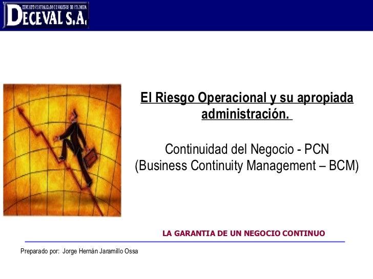 Administración Del Riesgo Operacional