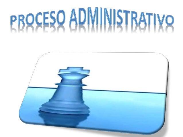 • En el proceso administrativo, se tiene como  etapa inicial la Planeación, la cual consiste en  la formulación del estado...