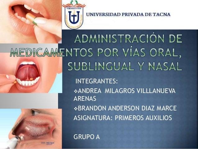 por oral