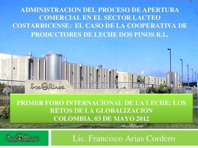 Administracion proceso apertura comercial
