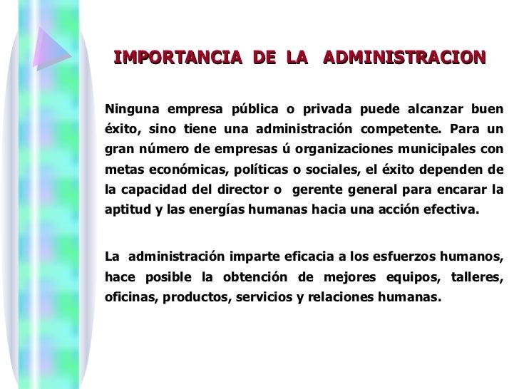 Administracion y la racionalizaci n for Importancia de la oficina