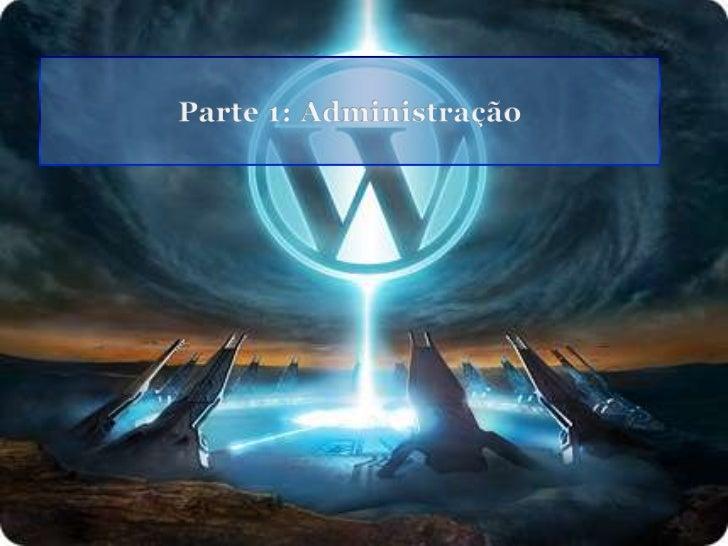 Administração wordpress