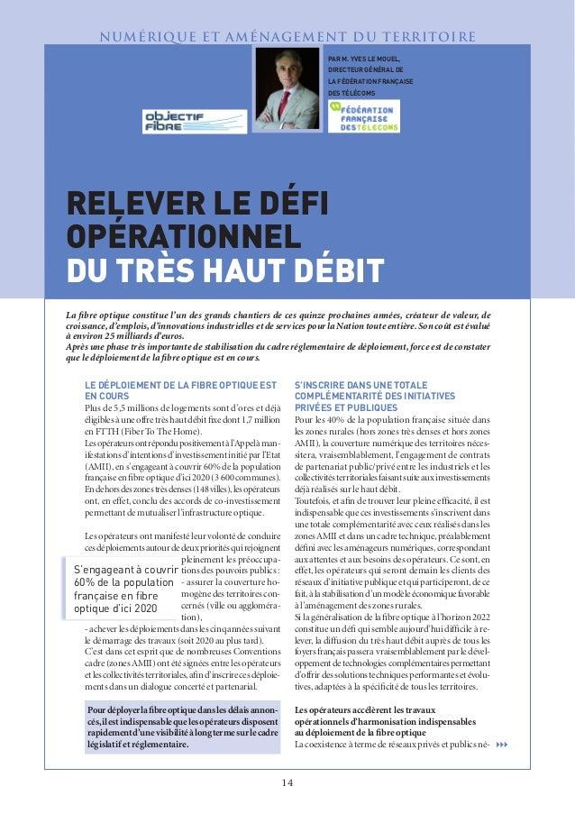 """Interview de Yves le Mouël dans la revue """"Administration"""", revue de l'administration territoriale de l'Etat"""