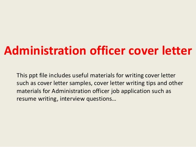 Development Officer Cover Letter Example