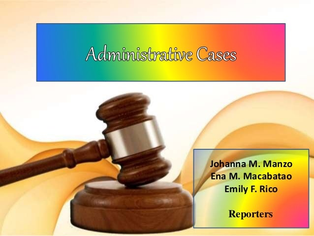 List of United States administrative law cases